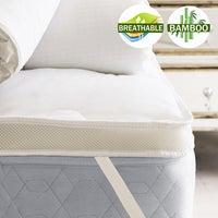 Airmax Bamboo Mattress Topper 1000GSM