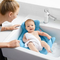 Angelcare Bath//Shower Support Ring Seat Baby//Infant Bathing Clean 6m-10m Pink