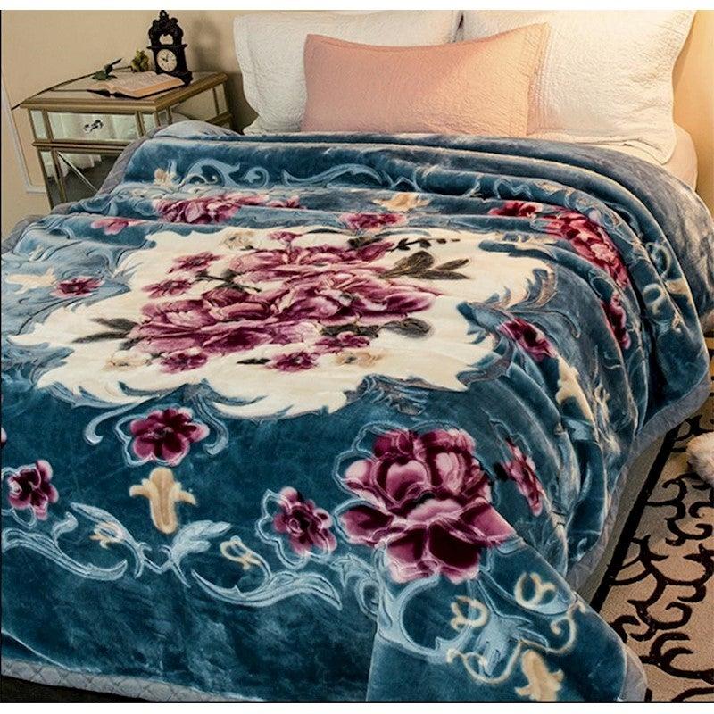 750gsm Queen Size Bed Mink Blanket Throw Rug 200x240cm 4