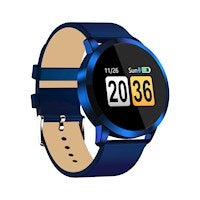 Diggro Q8 Smart Watch OLED Color Heart Rate Monitor Blood Pressure Oxygen IP68 Pedometer for Men Women Sport Fitness Watches-Blue