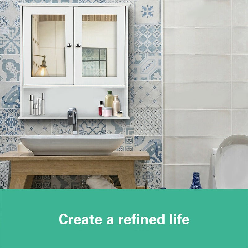 Environmentally Friendly Kitchen Cabinets: Eco-friendly Multilayer Partition Bathroom Cabinet With