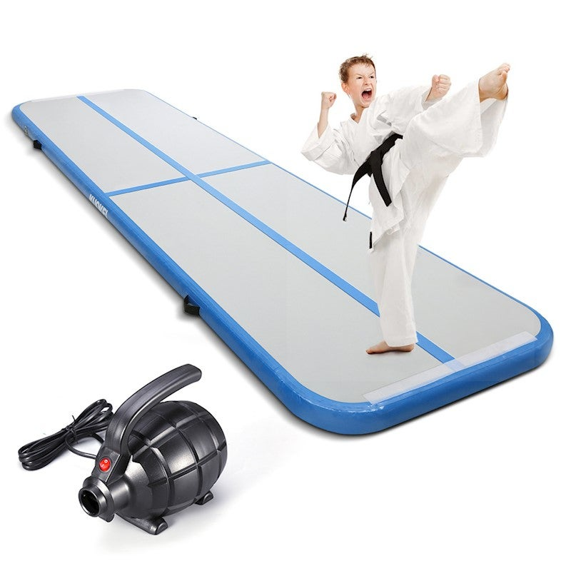 3M KUOKEL Gymnastic Mat Inflator Exercise Mat For Floating Boxing Surfing w//Pump