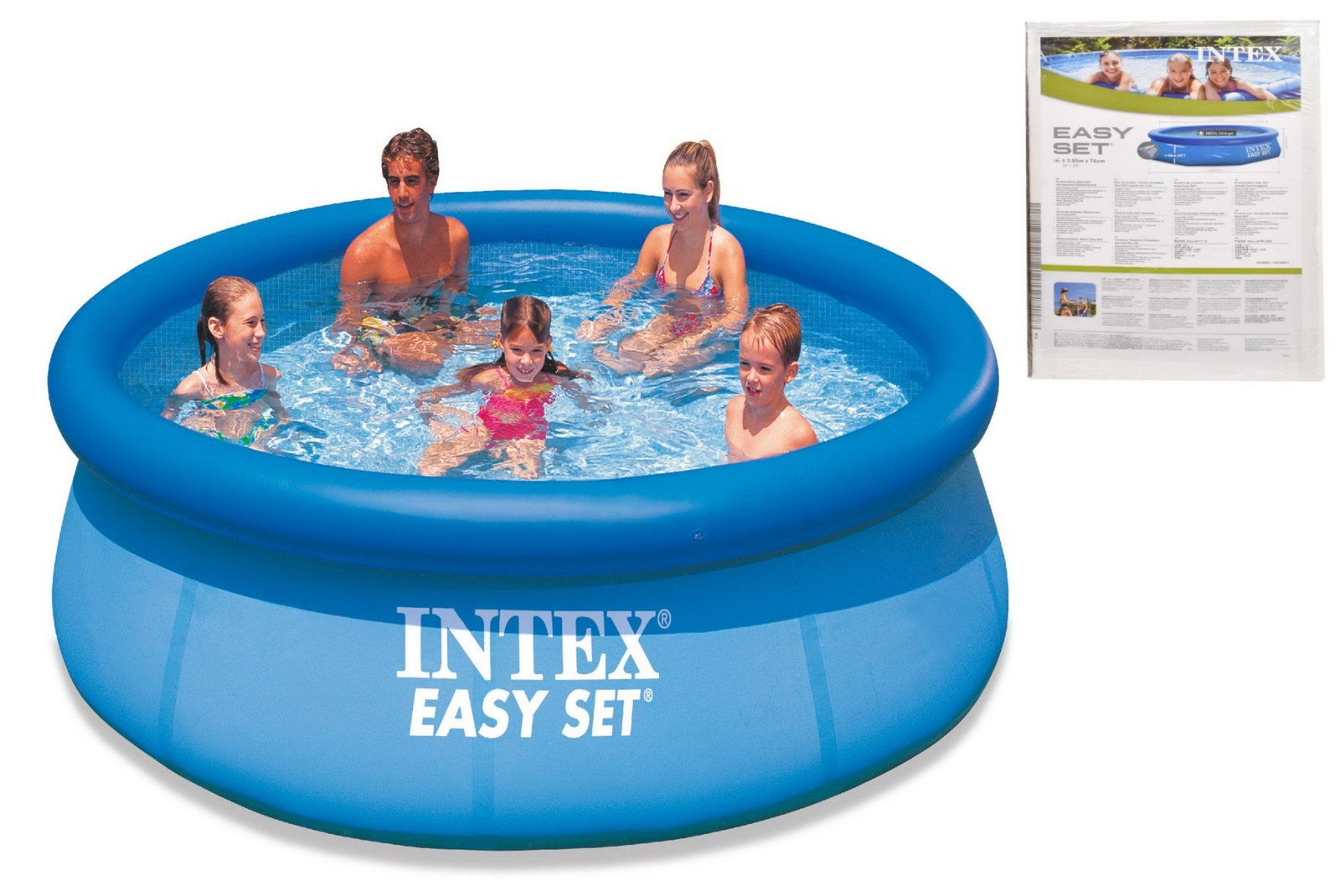 Intex 10 X 30 Quot Easy Set Above Ground Inflatable Swimming