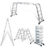 5.8M Multi Purpose Adjustable Aluminum Ladder