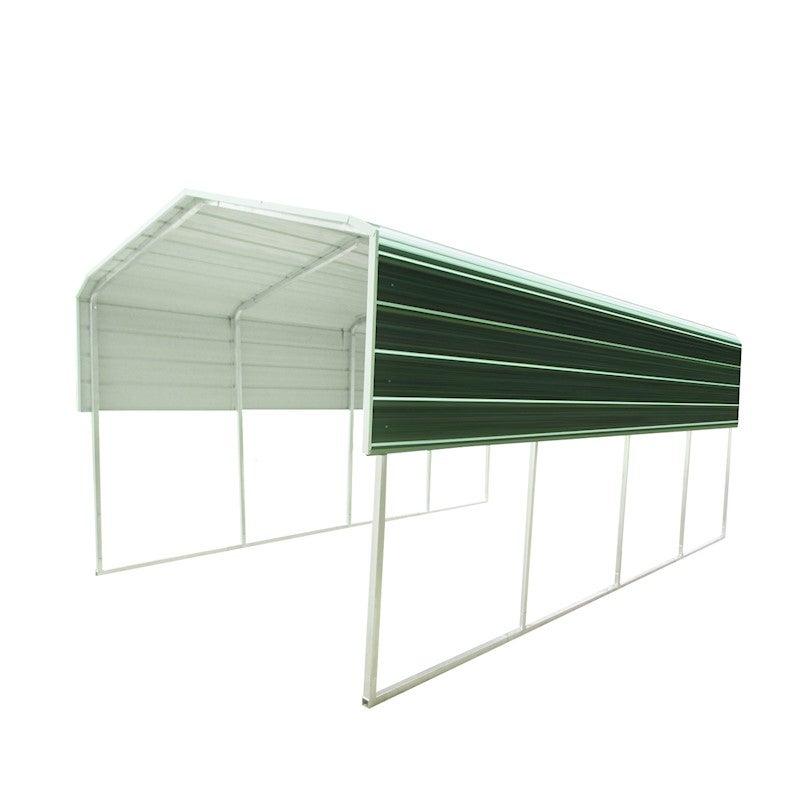 Prime Metal Steel Carport 6X6M Green Evergreenethics Interior Chair Design Evergreenethicsorg