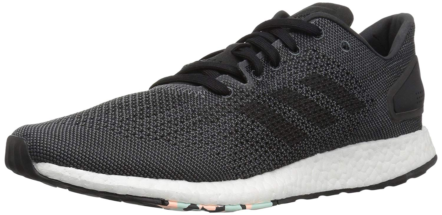 Adidas Womens Pure Boost DPR Low Top Lace Up Running Sneaker US