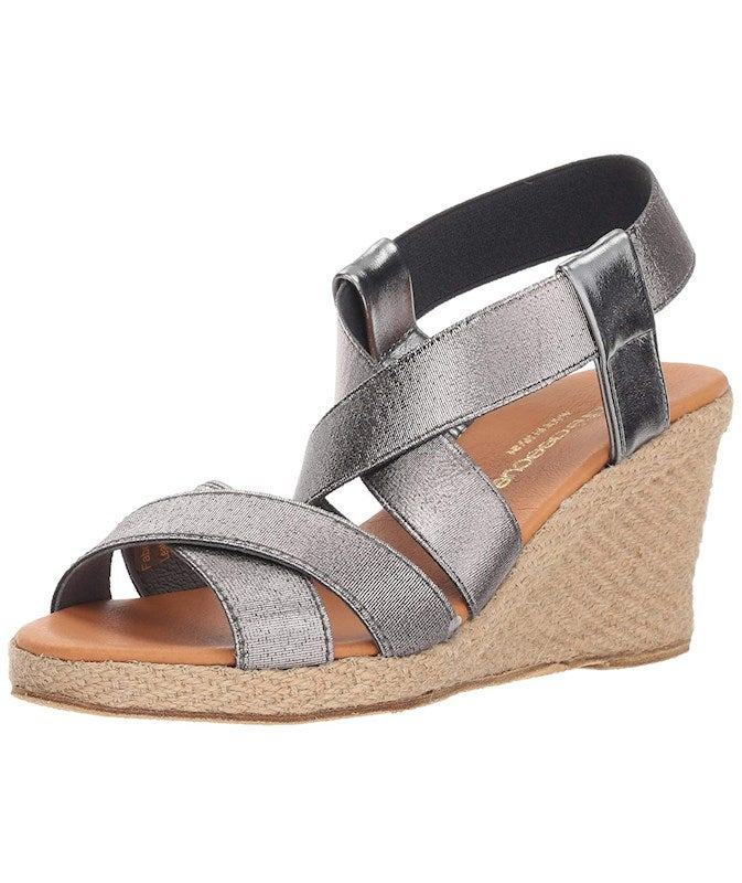 André Assous Womens Dalmira Open Toe Casual Ankle Strap Sandals US