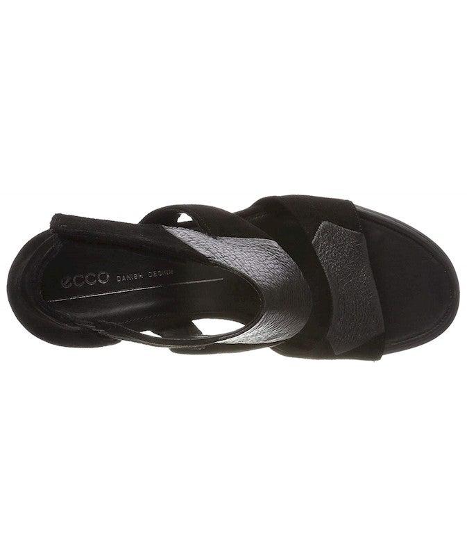 ECCO Women's Women's Shape 65 Block Ankle Strap Heeled Sandal US