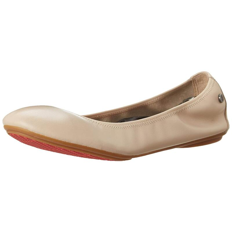 Hush Puppies Womens Chaste Ballet Closed Toe Slide Flats US