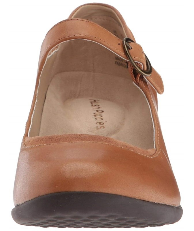 Hush Puppies Womens ODELL Mary Jane Leather Closed Toe Casual Platform Sandals US