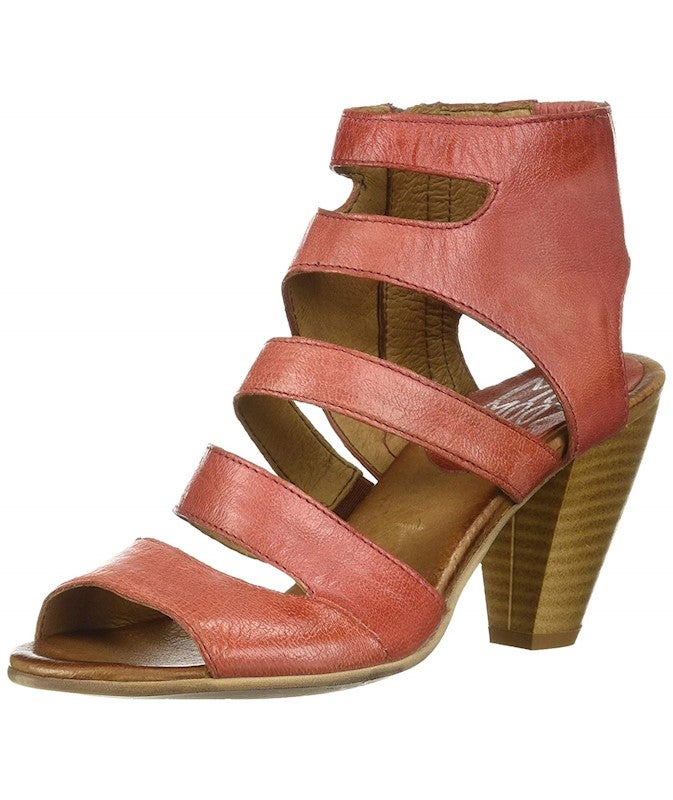 Miz Mooz Coast Womens Ankle Strap Heel