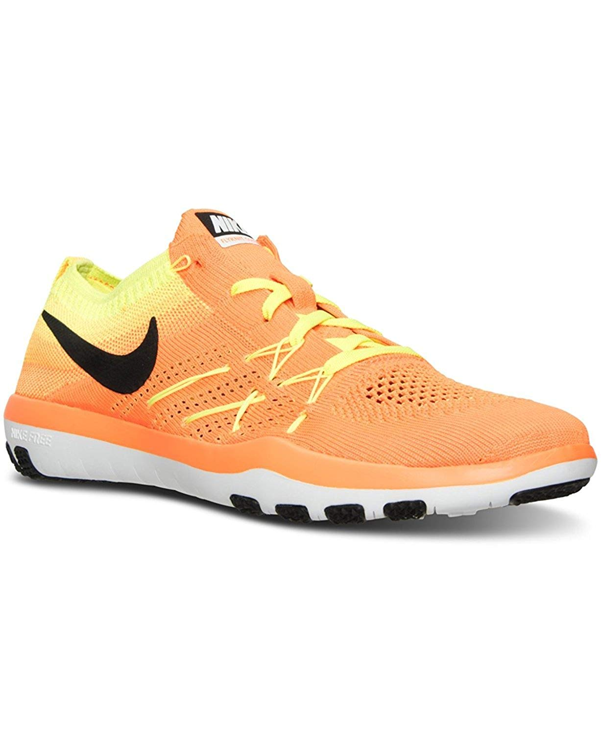 Nike Womens Free tr Focus Flyknit Low Top Lace Up Running Sneaker US