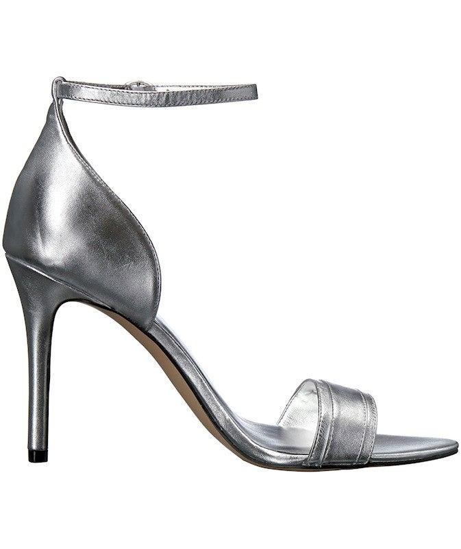 Nine West Women's Matteo Metallic Dress Sandal US