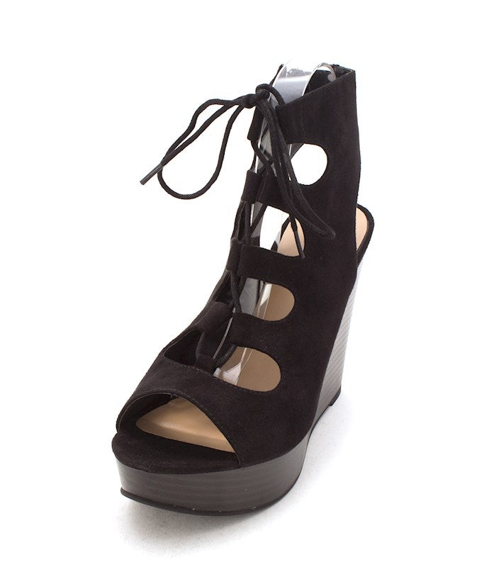 Nine West Womens LOLIL Open Toe Casual Platform Sandals US