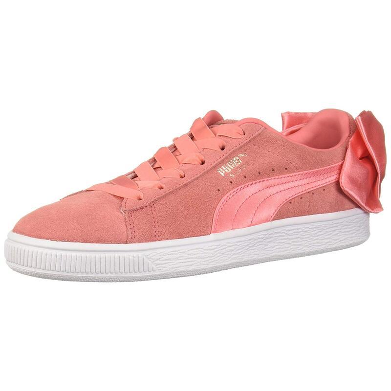 PUMA Women's Suede Bow Wn Sneaker US