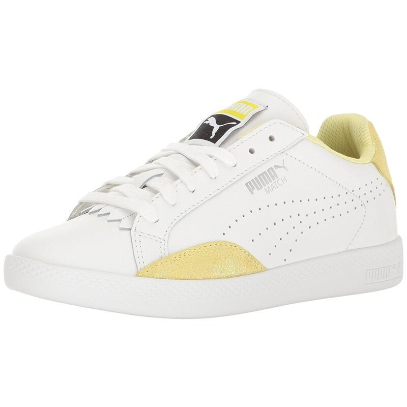 Puma Womens Match Lo Reset Low Top Lace Up Fashion Sneakers US