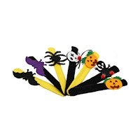 Slap Bracelet Kids Halloween Pumpkin Spider Snap Wristbands Halloween Party Supplies