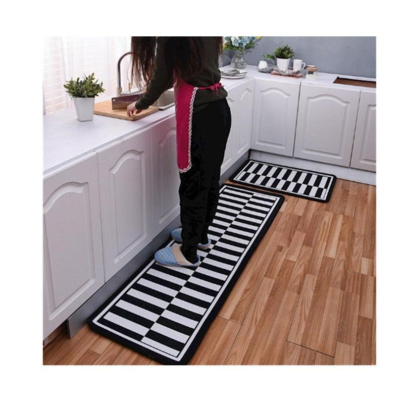 Non Slip Kitchen Floor Mat Doormat Runner Rug Set   4 ...