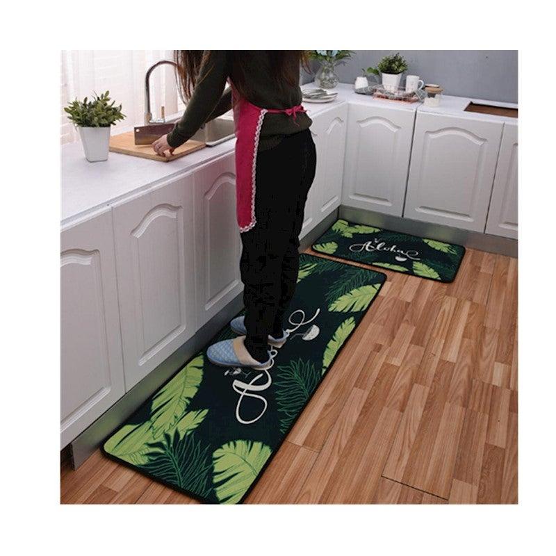 Non-Slip Kitchen Floor Mat Doormat Runner Rug Set - 9 ...