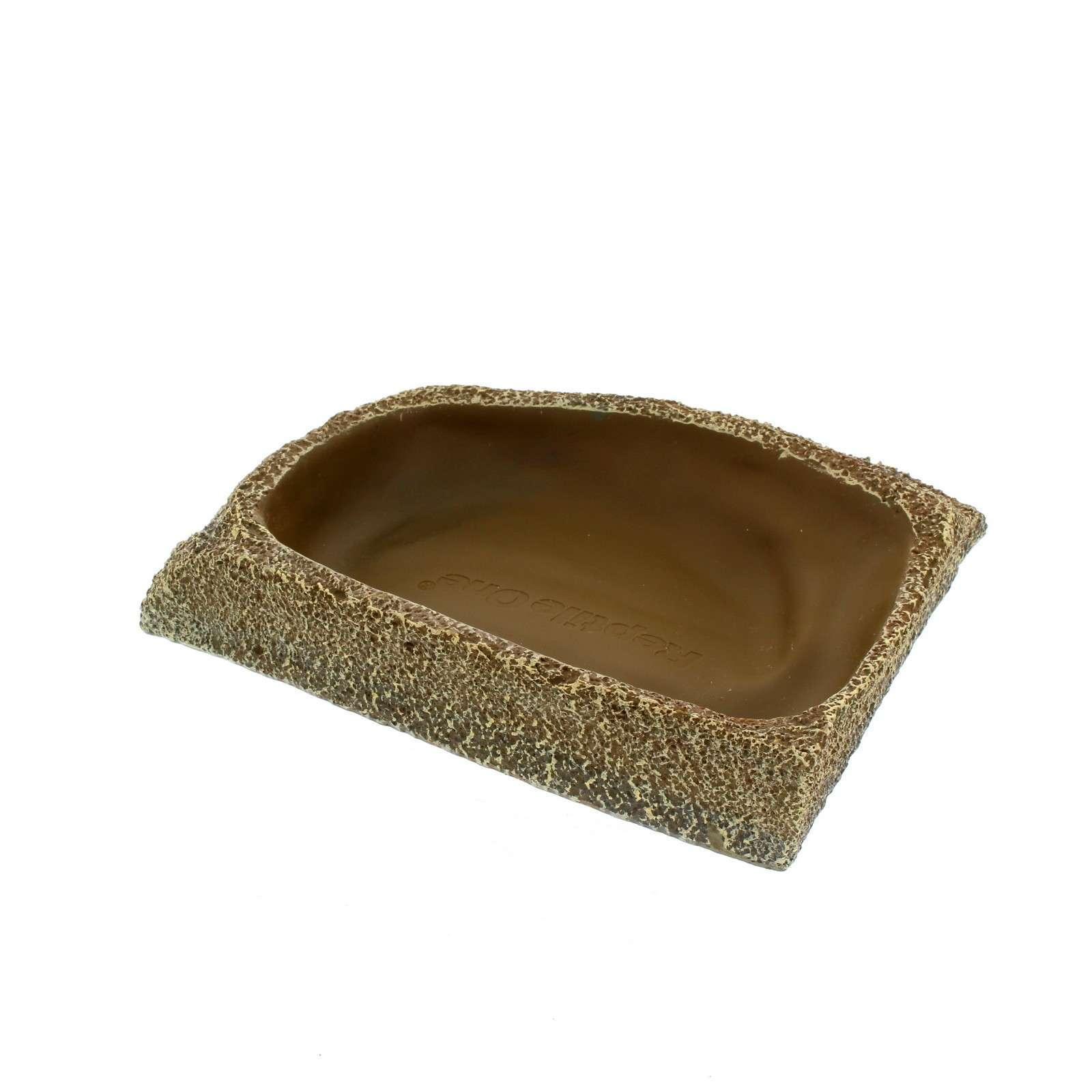 Dyno Rock Corner Fit Bowl Regular Reptile One Realistic Texture Long Lasting Buy Reptile