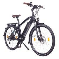 NCM Venice Plus Trekking E-Bike, City-Bike, 250W, 16Ah 768Wh Battery, [Black 28]
