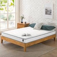 Zinus 15cm Tight Top Support Bonnell Inner Spring Bed Mattress HD Foam Layer