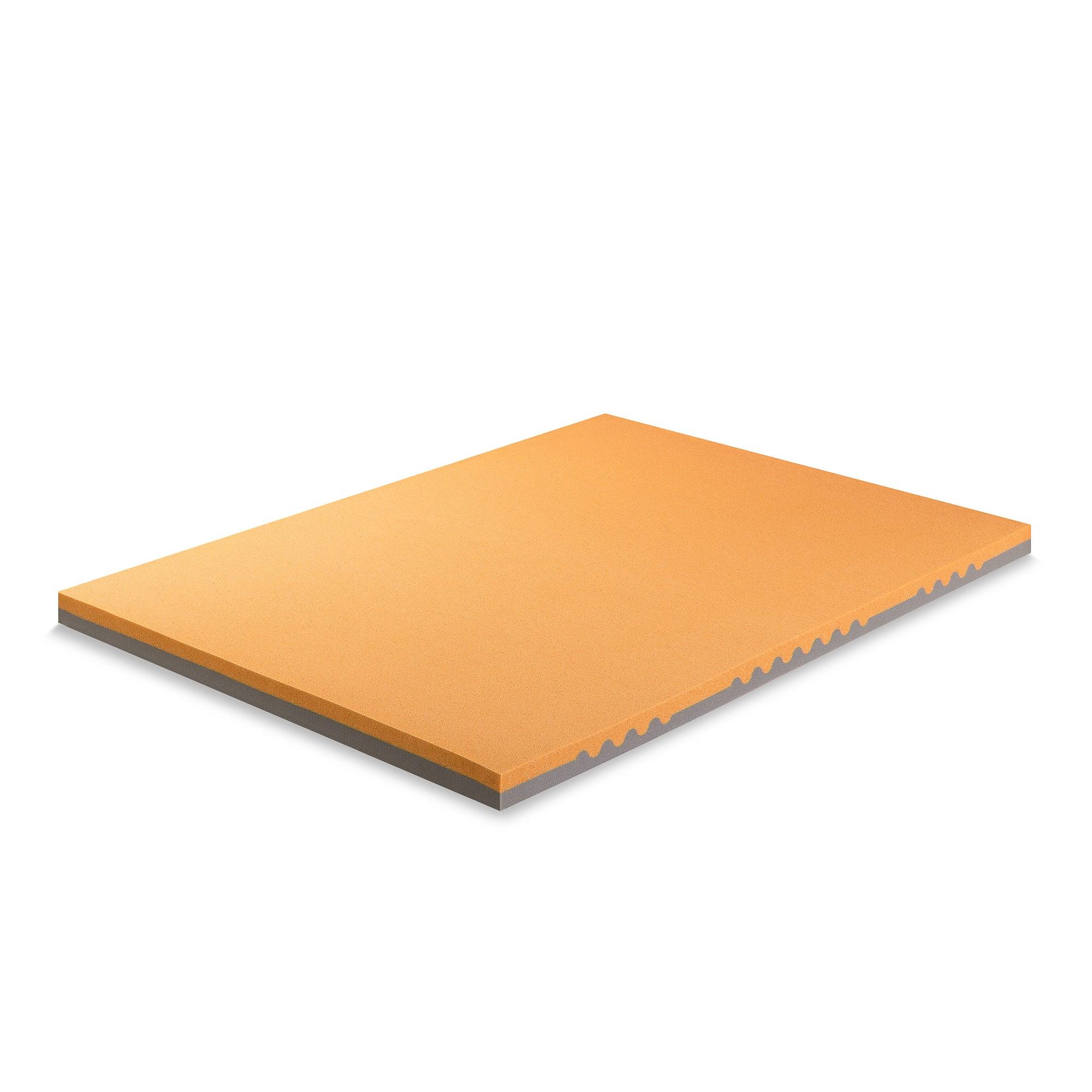 Zinus 7 5cm Torso Tec Gel Cool Antimicrobial Copper Memory