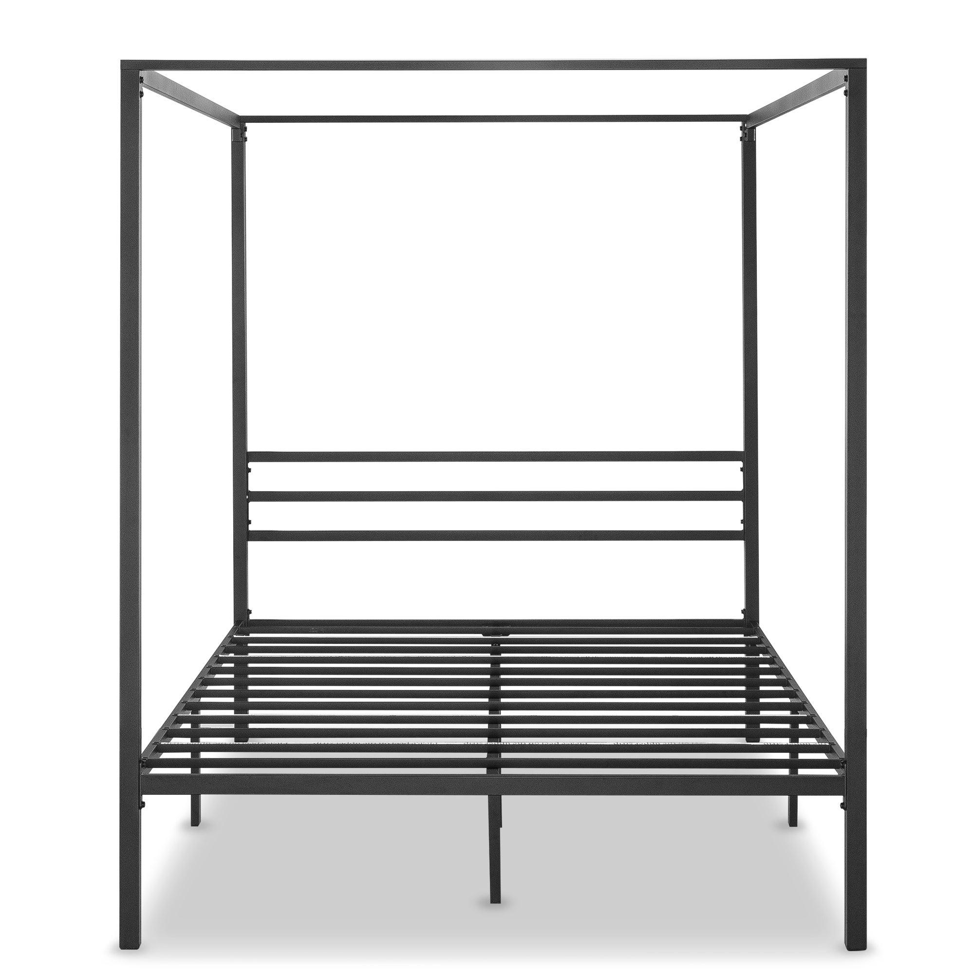 Zinus Patricia Metal Framed Canopy Four Poster Platform