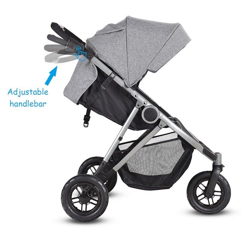 3Wheel Baby Stroller Toddler Kid City Jogger Pram Folding ...