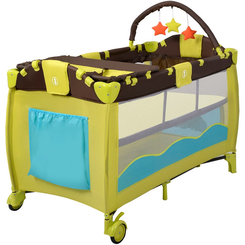 Baby Travel Portable Cot Bassinet Crib All In 1 Travel ...