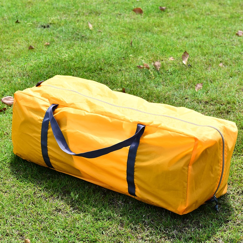 Costway Family Camping Tent - Canvas Dome Swag / 8 Person ...