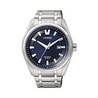 Citizen 42mm Mens Eco Drive Super Titanium Wrist Watch AW1240-57L