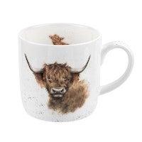 Royal Worcester Wrendale Highland Coo Mug