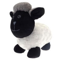 Country Club Sheep Door Stop, Black