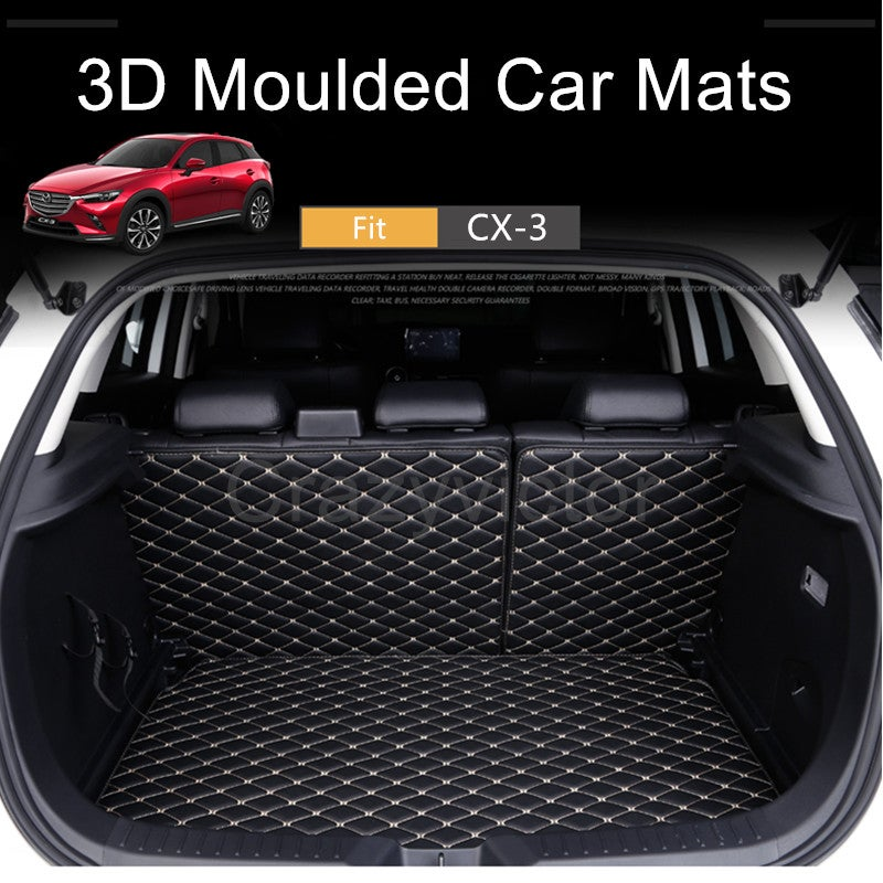 Quilted Car Rear Pet Dog Bed Seat Cover Hammock For Mazda CX-3 CX3 CX 3 2015 On