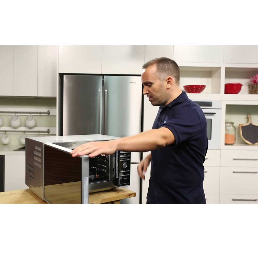 Panasonic Nncf770m Convection Flatbed Inverter Microwave