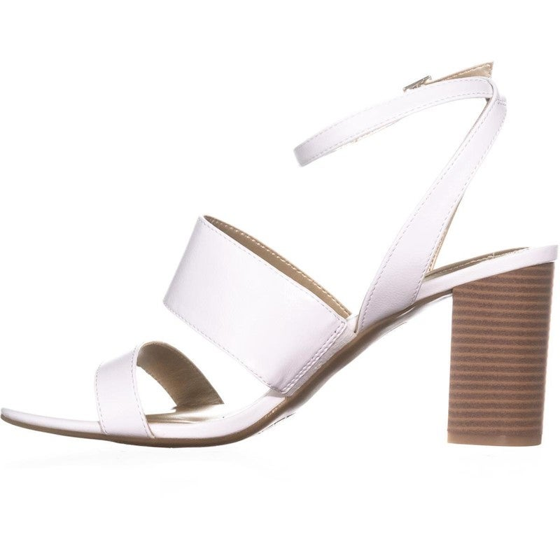 Bandolino Anchor Ankle Strap Heeled Sandals, White