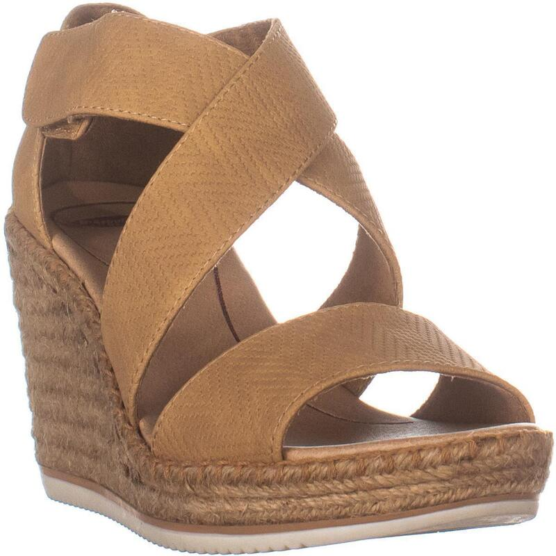 Dr. Scholl's Vacay Espadrille Wedge Sandals, Nude