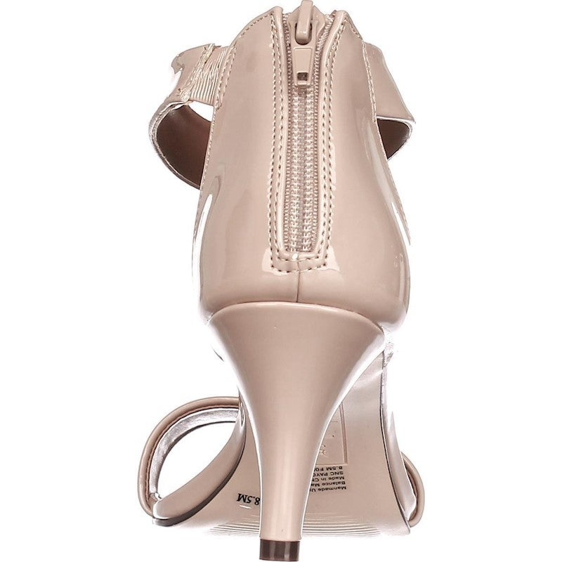 SC35 Paycee Dress Heels Sandals, Nude