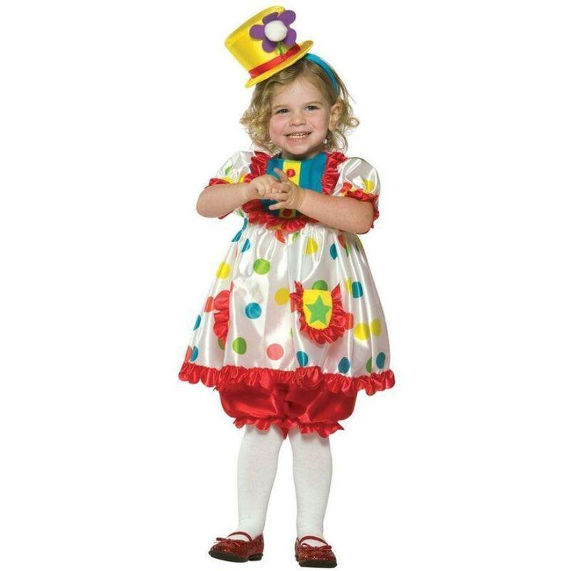Top Hat Clown Costume For Kids