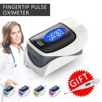 Digital Finger Pulse LCD Oximeter Pulsoximeter Blood Oxygen SpO2 Saturation De Pulso De Dedo Oximetro Monitor LCD Display