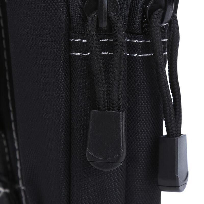 Water Resistant Zipper Buckle Outdoor Activity Sport Cell Phone Waist Bag Unisex