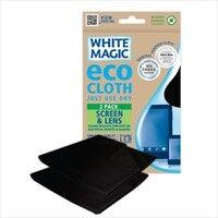 White Magic Eco Cloth Screen & Lens 2 Pack