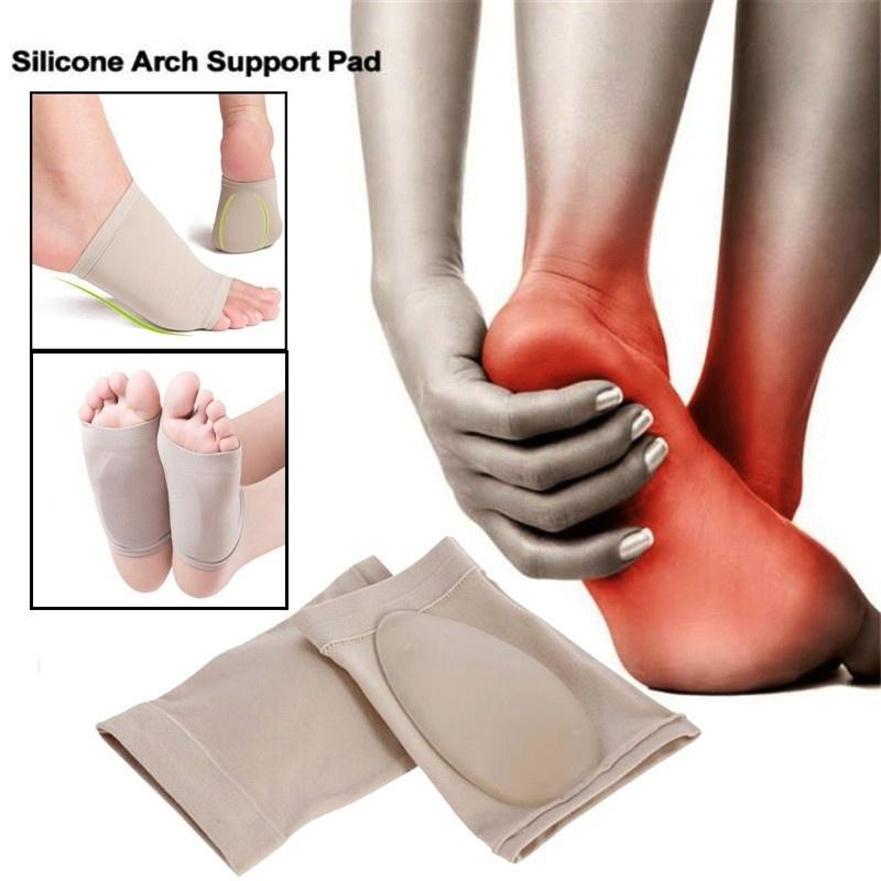 Heel Foot Cushion//Pad 3//4 Insole Shoe pad For Women Orthotic Arch Support  TB