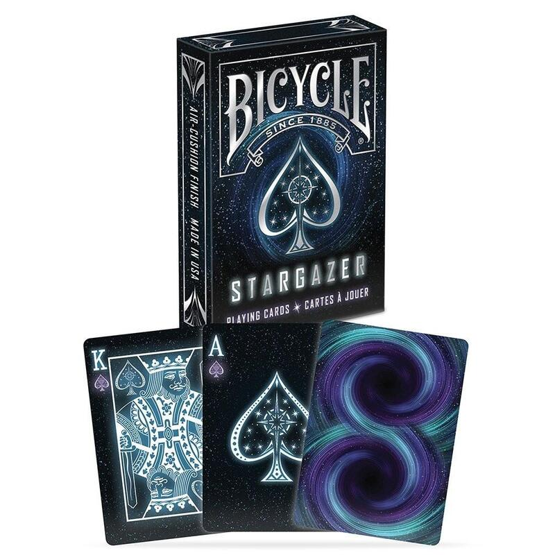 Stargazer Playing Cards Bicycle Poker Magic Galaxy Stars Deck Playing Cards Games