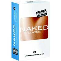 Naked Classic Condoms 12 Pack