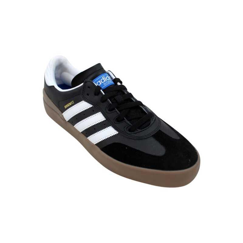 Adidas Busenitz Vulc RX Mens Shoes Black White Gum