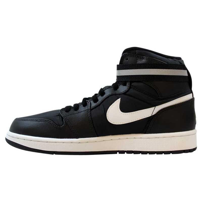 Nike Air Jordan I 1 High Strap BlackDark Grey White 342132 003 Men's Size 9