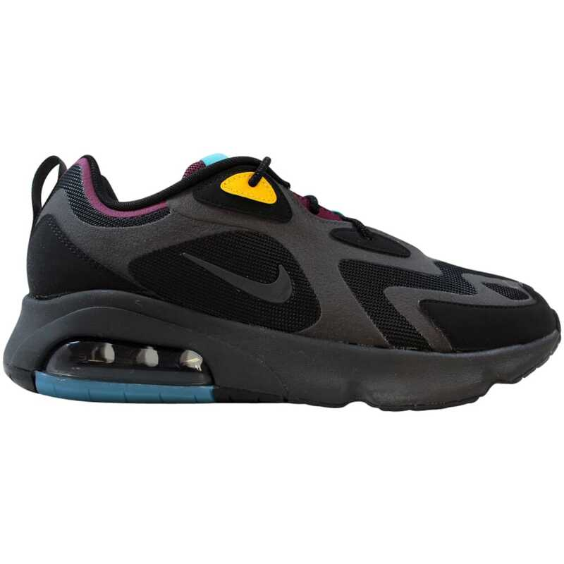 Nike Air Max 200 Black Anthracite Bordeaux AQ2568 001 – Buy