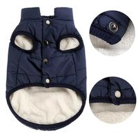 Pet Dog Vest Jacket Clothing Autumn Winter Windproof Dog Clothes Warm Coat for Small Large Dogs French Bulldog Puppy Pet Outfits